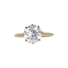 2.5 ct. Old European Cut Solitaire Ring, E, VS2 #3