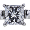 1.01 ct. Princess Cut Solitaire Ring, D, SI2 #4