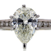 2.51 ct. Pear Cut Bridal Set Ring #2