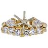 1.78 ct. Round Cut Bridal Set Ring, E, I2 #2