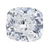 1.13 ct. Cushion Cut Bridal Set Ring, F, VS2 #1