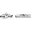 0.62 ct. Round Cut Bridal Set Ring, I, SI1 #3