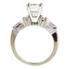 2.01 ct. Princess Cut Bridal Set Ring #2