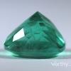 8.62 ct. Cushion Cut Emerald #2