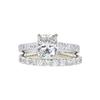 1.52 ct. Cushion Modified Cut Bridal Set Ring, J, VVS2 #3