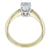 1.04 ct. Oval Cut Solitaire Ring, D, IF #3