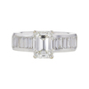 2.01 ct. Emerald Cut Solitaire Ring, I, VS1 #3