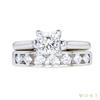 1.01 ct. Princess Cut Bridal Set Ring, I, VVS2 #2