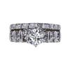 1.02 ct. Round Cut Bridal Set Ring, J, SI2 #3