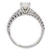 1.01 ct. Round Cut Bridal Set Ring, L, SI1 #3