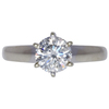 1.51 ct. Round Cut Solitaire Ring, H, I1 #2