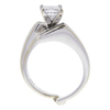 0.95 ct. Princess Cut Bridal Set Ring, E-F, I1 #2
