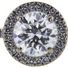 1.01 ct. Round Cut Bridal Set Ring, G, VS2 #4
