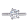 1.5 ct. Round Cut Solitaire Ring, G, VS1 #3