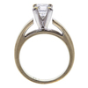 0.99 ct. Princess Cut Solitaire Ring, G, SI2 #3