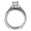 0.83 ct. Round Cut Bridal Set Ring, E, VS2 #2