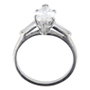 1.36 ct. Marquise Cut Solitaire Ring, G, SI1 #2