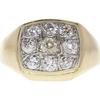 0.5 ct. Round Cut Bridal Set Ring, H-I, SI2-I1 #3