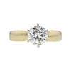 1.18 ct. Round Cut Solitaire Ring, L, I1 #3