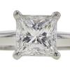 1.32 ct. Princess Cut Bridal Set Ring, G, VVS2 #4