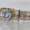 .9 ct. Round Cut Central Cluster Ring #3