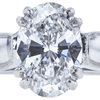 2.24 ct. Oval Cut Solitaire Ring, D, VS2 #3
