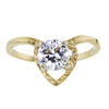 0.73 ct. Round Cut Solitaire Ring, E, SI2 #2