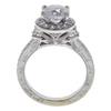 1.52 ct. Round Cut Bridal Set Ring, E-F, I3 #3