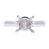 2.02 ct. Round Cut Promise Ring, G, SI1 #4