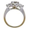 0.94 ct. Round Cut 3 Stone Ring, H-I, SI2-I1 #3