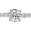 1.63 ct. Round Cut Solitaire Ring, J-K, I2-I3 #1