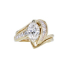 0.92 ct. Marquise Cut Bridal Set Ring, I-J, VS2-SI1 #2