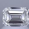1.05 ct. Emerald Cut Bridal Set Ring, H, VVS2 #1