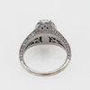 0.75 ct. Oval Cut Bridal Set Ring #2