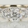 .55 ct. Round Cut Bridal Set Ring #1