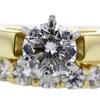 1.10 ct. Round Cut Bridal Set Ring #4