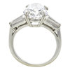 4.93 ct. Pear Cut 3 Stone Ring, F, SI1 #1