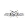 0.99 ct. Princess Cut Ring, H, SI1 #3