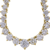 0.65 ct. Round Cut Riviera Necklace, G-H, SI2 #1