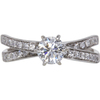 0.7 ct. Round Cut Solitaire Ring, H-I, VS2 #1