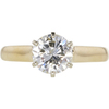 1.58 ct. Round Cut Solitaire Ring, J-K, I1 #1