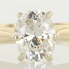 .79 ct. Oval Cut Solitaire Ring #1