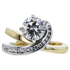 1.71 ct. Round Cut Solitaire Ring, H, I1 #4
