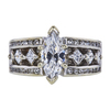 1.18 ct. Marquise Cut Solitaire Ring, D, SI1 #3