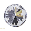 1.33 ct. Round Cut Central Cluster Ring, F, I1 #4