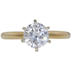 1.26 ct. Round Cut Solitaire Ring, I, I1 #3