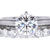 1.52 ct. Round Cut Bridal Set Tiffany & Co. Ring #3