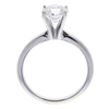 1.16 ct. Round Cut Solitaire Ring, H, I1 #4