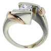 0.77 ct. Princess Cut Solitaire Ring, G, VS1 #3