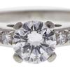 1.0 ct. Round Cut Bridal Set Ring, G, SI1 #4
